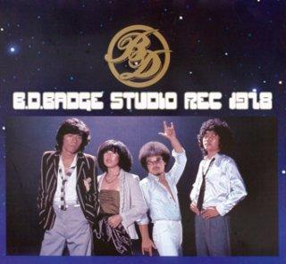 BDバッヂ STUDIO REC 1978