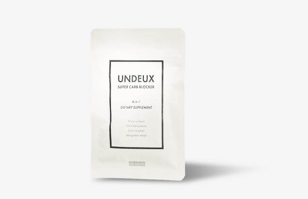 UNDEUX(アンドゥ)4in1糖質カットサプリ -カーボーブロッカー- 90錠
