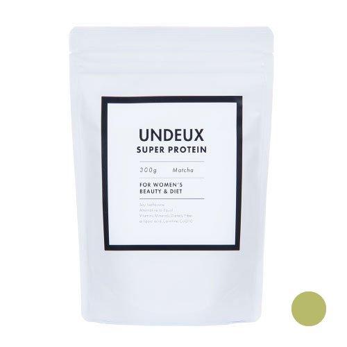 UNDEUX(アンドゥ)ソイプロテイン 女性用(抹茶味)300g