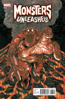 MONSTERS UNLEASHED #3 (OF 5) QHAYASHIDA VAR