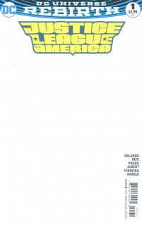 JUSTICE LEAGUE OF AMERICA #1 BLANK VAR ED