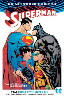 SUPERMAN TP VOL 02 TRIALS OF THE SUPER SON (REBIRTH)