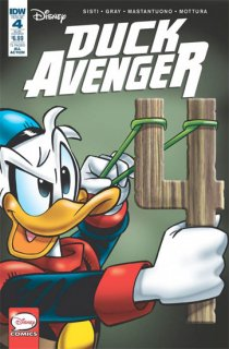 DUCK AVENGER #4 SUBSCRIPTION VAR