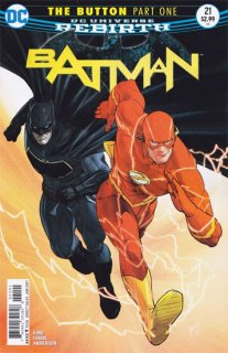 BATMAN #21 INTERNATIONAL EDITION (THE BUTTON)