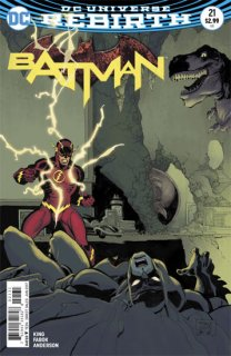 BATMAN #21 VAR ED  (THE BUTTON)