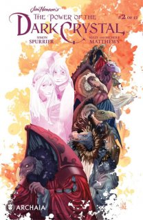 JIM HENSON POWER OF DARK CRYSTAL #2 (OF 12)