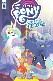 MY LITTLE PONY FRIENDS FOREVER #38