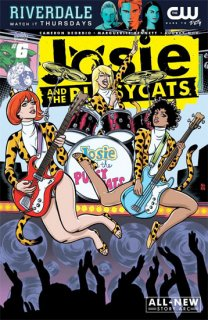 JOSIE & THE PUSSYCATS #6 CVR B MIKE & LAURA ALLRED