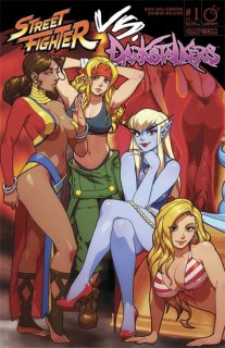 STREET FIGHTER VS DARKSTALKERS #1 (OF 8) CVR B PORTER