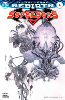 SUPER SONS #4 VAR ED