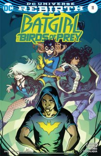 BATGIRL AND THE BIRDS OF PREY #11 VAR ED