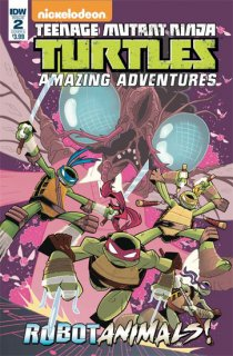 TMNT AMAZING ADVENTURES ROBOTANIMALS #2 (OF 3) CVR A THOMAS