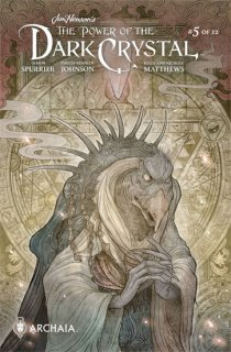 JIM HENSON POWER OF DARK CRYSTAL #5 (OF 12) SUBSCRIPTION TAK