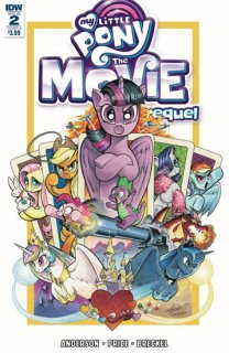 MY LITTLE PONY MOVIE PREQUEL #2 CVR A PRICE