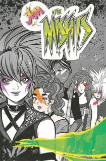 JEM & THE HOLOGRAMS THE MISFITS TP