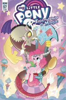 MY LITTLE PONY FRIENDSHIP IS MAGIC #57 CVR A FLEECS