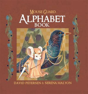 MOUSE GUARD ALPHABET BOOK HC