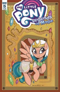MY LITTLE PONY LEGENDS OF MAGIC #5 CVR A HICKEY