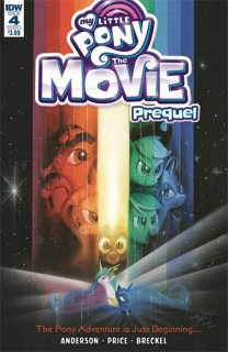 MY LITTLE PONY MOVIE PREQUEL #4 CVR A PRICE