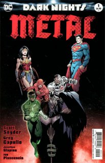 DARK NIGHTS METAL #1 (OF 6) 2ND PTG