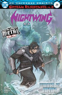 NIGHTWING #29 (METAL)