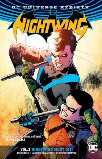 NIGHTWING TP VOL 03 NIGHTWING MUST DIE (REBIRTH)