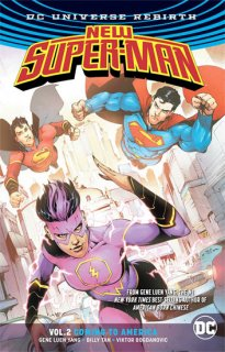 NEW SUPER MAN TP VOL 02 COMING TO AMERICA (REBIRTH)