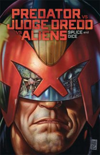 PREDATOR VS JUDGE DREDD VS ALIENS SPLICE & DICE TP