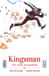 KINGSMAN RED DIAMOND #2 (OF 6) CVR A ALBUQUERQUE