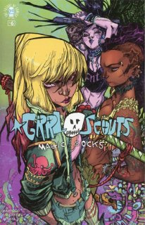 GRRL SCOUTS MAGIC SOCKS #6 (OF 6) CVR B CANETE