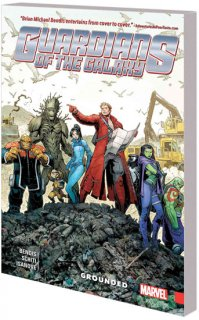 GUARDIANS OF GALAXY NEW GUARD TP VOL 04 GROUNDED