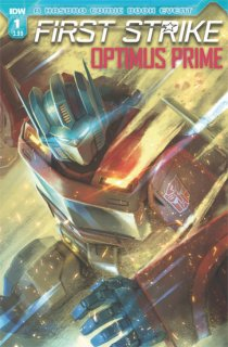 OPTIMUS PRIME FIRST STRIKE #1 CVR A PITRE-DUROCHER