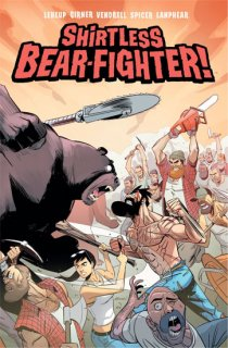 SHIRTLESS BEAR-FIGHTER #5 (OF 5) CVR C VENDRELL