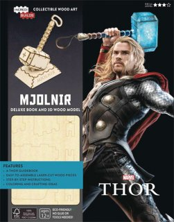 INCREDIBUILDS MARVEL THOR DLX MODEL W BOOK