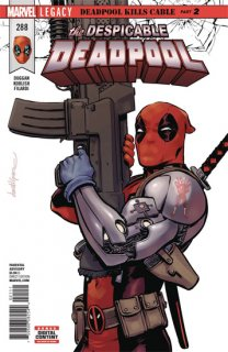 DESPICABLE DEADPOOL #288 LEG