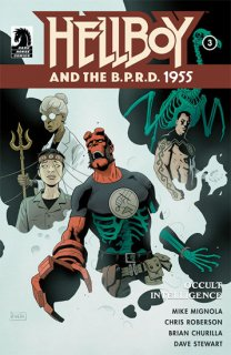 HELLBOY & BPRD 1955 OCCULT INTELLIGENCE #3 (OF 3)