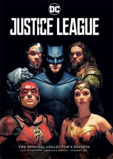 JUSTICE LEAGUE MAGAZINE OFFICIAL COLL NEWSSTAND ED