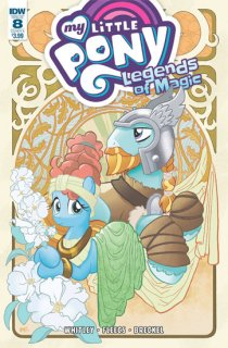 MY LITTLE PONY LEGENDS OF MAGIC #8 CVR A FLEECS