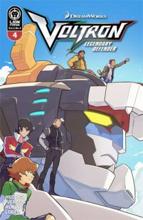 VOLTRON LEGENDARY DEFENDER VOL 2 #4 CARREON VAR