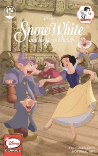 DISNEY SNOW WHITE 80TH ANN ONE SHOT