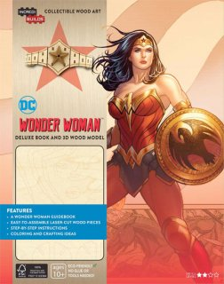 INCREDIBUILDS WONDER WOMAN DLX MODEL W BOOK