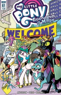 MY LITTLE PONY FRIENDSHIP IS MAGIC #61 CVR A PRICE