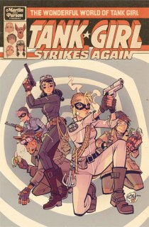 WONDERFUL WORLD OF TANK GIRL #1 CVR A PARSON【再入荷】