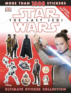 STAR WARS LAST JEDI ULTIMATE STICKER COLLECTION SC