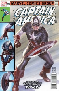 CAPTAIN AMERICA #695 2ND PTG ALEX ROSS VAR LEG 【再入荷】