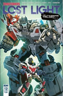 TRANSFORMERS LOST LIGHT #12 CVR A LAWRENCE