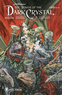 JIM HENSON POWER OF DARK CRYSTAL #10 (OF 12)