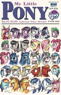 MY LITTLE PONY FRIENDSHIP IS MAGIC #62 CVR A PRICE