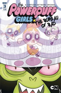 POWERPUFF GIRLS BUREAU OF BAD #3 (OF 3) CVR A MURPHY