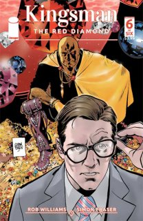 KINGSMAN RED DIAMOND #6 (OF 6) CVR A PARLOV